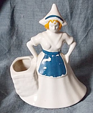 Dutch Girl Cactus Pot Blue Apron (Image1)