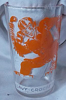 Davy Crockett Collectors Glass Fought For Texas