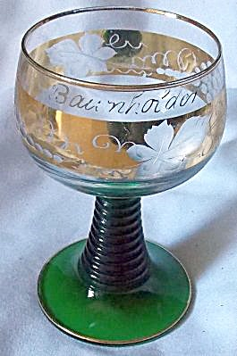 Cris D'arques Roemer Water Goblet