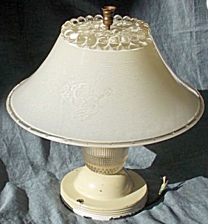 Vintage Child�s Ceiling Light and Shade (Image1)
