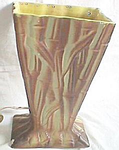 Retro 50's California TV Light  Bamboo Pattern 1951 (Image1)