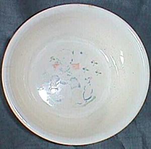 Old Child's Nursery Rhyme Bowl Little Jack Horner (Image1)