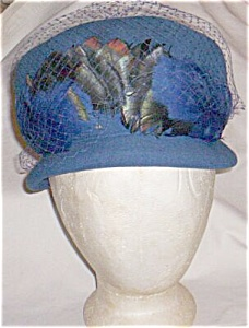 Glenover Wool & Feather Hat Free Shipping