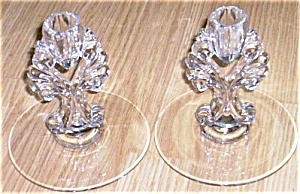 Pair New Martinsville/Viking Candles Janice (Image1)