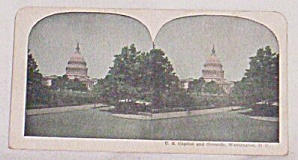Stereoscope Card Us Capital & Grounds