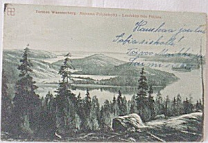 Vintage Post Card Scandinavia (Image1)
