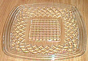Imperial Waffle Block Square Plate (Image1)