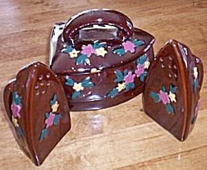 Iron Range Set Salt Pepper Grease Jar (Image1)