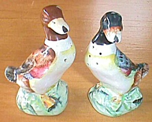 Antique Mallard Duck Shakers