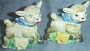 Hand Painted Lamb Shakers