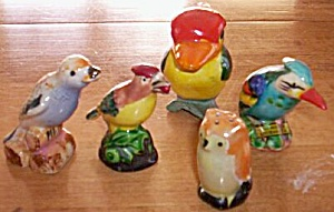 5 Single Bird Shakers