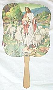Vintage Funeral Home Paddle Fan Kingman Kansas Free Shipping (Image1)