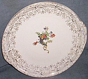 Knowles Serving Plate Yorktown Horn of Plenty (Image1)