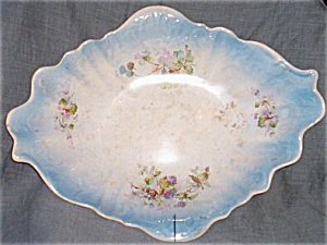 East Palestine Pottery Fruit Bowl Juniata Free Shipping (Image1)