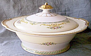 Antique Noritake Covered Casserole Standish Pattern (Image1)