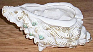 Stunning Art Pottery Conch Shell Planter (Image1)