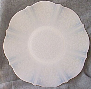 American Sweetheart Large Dinner Plate Monax 10 3/4""