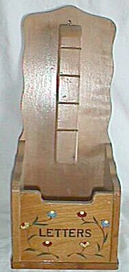 Vintage Wooden Letter Holder (Image1)