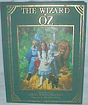 1985 Wizard Of Oz Book