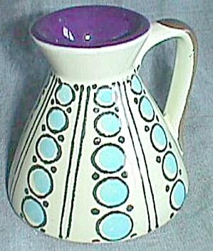 Retro 60's Polka Dot Ewer/Creamer (Image1)