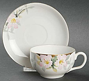 Noritake Azalea Cup And Saucer1918