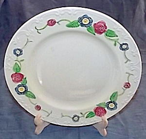 Homer Laughlin Oven Serve Colorful Dinner Plate
