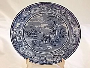 Midwinter Dinner Plate Rural England