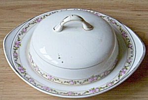 Ktk Antique Covered Butter Dish