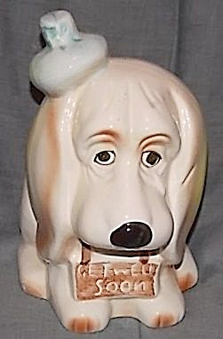 Relpo Basset Hound Get Well Soon Planter