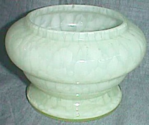 Antique Czechoslovakian Vaseline Powder Jar Bottom Only (Image1)