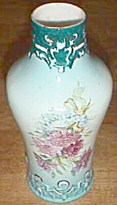Stunning Hand Painted Antique Austria Porcelain Vase (Image1)