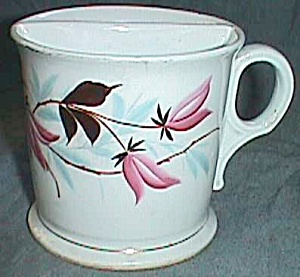 Antique Marked Porcelain Shaving Cup Mug (Image1)