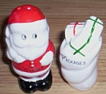 Santa & Bag Salt Pepper Shakers