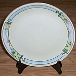 Click here to enlarge image and see more about item ai-39: Antique L. Hutschenreuther Plate