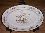 Click here to enlarge image and see more about item ai-40: Noritake Large Serving Platter Asian Song