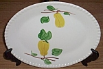 Blue Ridge Pottery Platter Bartlett Pear