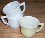 Click here to enlarge image and see more about item ai-48: 3 Moderntone Little Hostess Cups Hazel Atlas