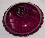 Click to view larger image of Old Cafe Candy Lid Royal Ruby (Image1)