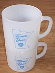 2 Advertising Federal Mugs Farmers Union