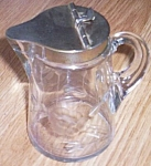 Antique Molasses Can Syrup Dispenser Glass Pattern Glass