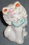 Persian Kitten Porcelain Figurine