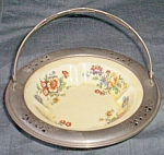 Click here to enlarge image and see more about item barm-53: Sebring Pottery Basket Farberware Liner