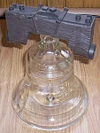 Click here to enlarge image and see more about item br-17: 1976 Liberty Bell Decanter Petri Brandy