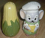 Mouse and Ear of Corn Shakers