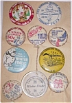 Click here to enlarge image and see more about item cd-48: Two Harbors MN Winter Frolic Buttons 1950-1976 Free Shi