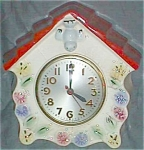 Click here to enlarge image and see more about item cd-6: Hull Bird House Clock