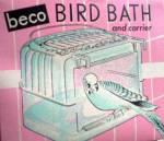 Click to view larger image of Vintage Beco Bird Bath & Carrier MIB Free Shipping (Image2)
