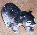 Click here to enlarge image and see more about item el-20: Cute Little Black Bear Ceramic Figurine
