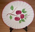 Click here to enlarge image and see more about item ely-101: Blue Ridge Dinner Plate Cherry Bounce