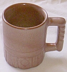 Click here to enlarge image and see more about item ely-65: Frankoma Mug C4